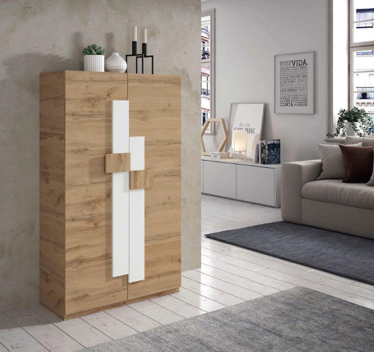 Modernūs prieškambario baldai batų dėžė Concept 730