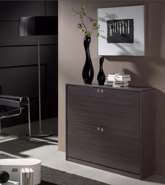 Modernūs prieškambario baldai batų komoda Cubic I1020