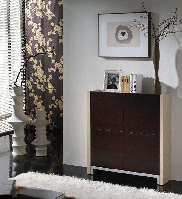 Modernūs prieškambario baldai batų komoda Cubic I710
