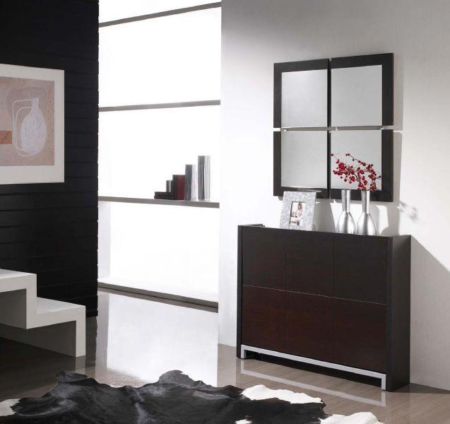 Modernūs prieškambario baldai batų komoda Cubic I720