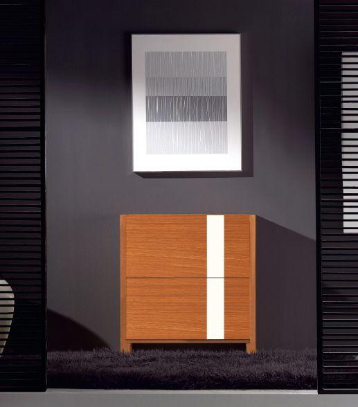 Modernūs prieškambario baldai batų komoda Cubic I810