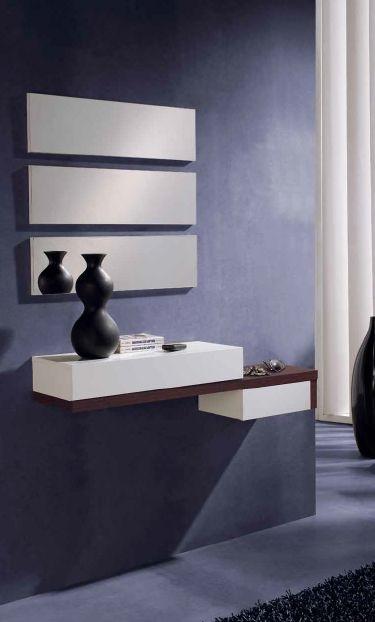 Modernūs prieškambario baldai konsolė Concept 160