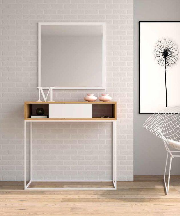 Modernūs prieškambario baldai konsolė Copen 3