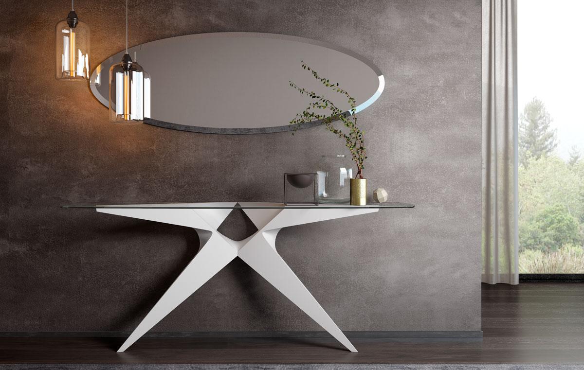 Modernūs prieškambario baldai konsolė OKAPI-1