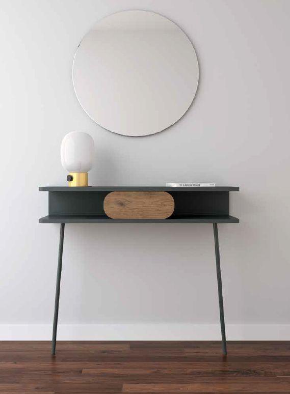 Modernūs prieškambario baldai konsolė Soft