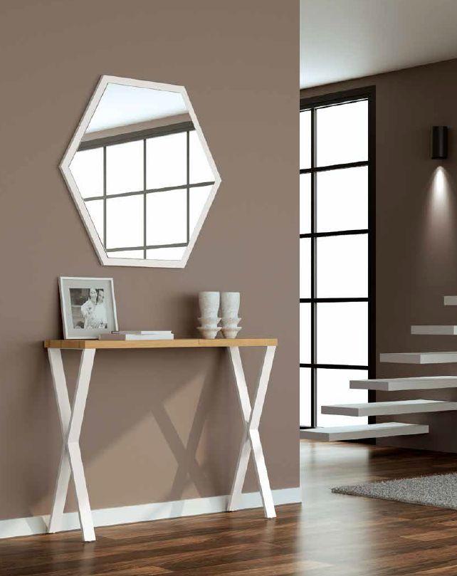 Modernūs prieškambario baldai konsolė Top