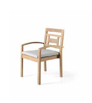 Klasikiniai lauko baldai valgomojo stalas kėdės Jawy 4