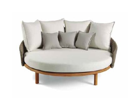 Modernios klasikos lauko baldai lauko lova Havana 10