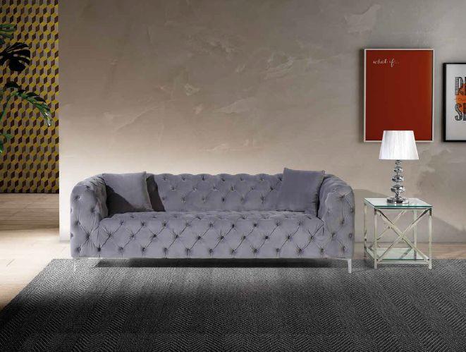 Modernios klasikos minkšti svetainės baldai sofa Venecia