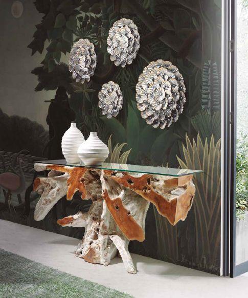 Modernios klasikos prieškambario baldai Naga White