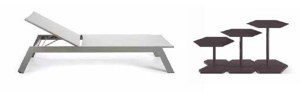 Modernūs lauko baldai gultas Ritz 5