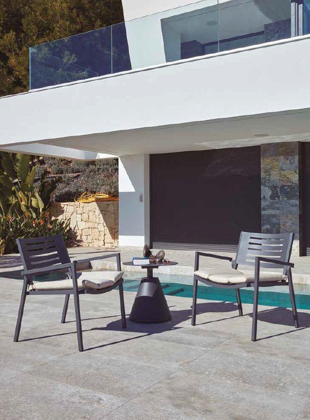 Modernūs lauko baldai krėsliukas Norwalk