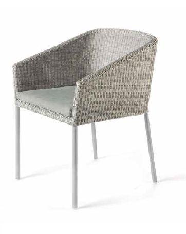 Modernūs lauko baldai krėsliukas Ruselia 1