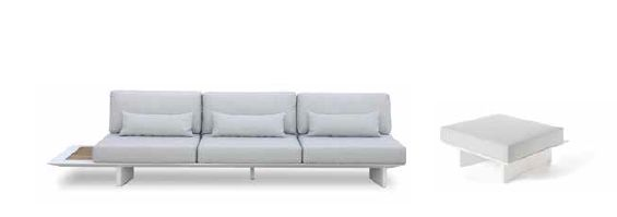 Modernūs lauko baldai sofa Arbon 1