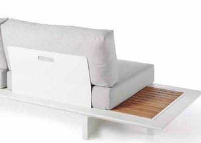 Modernūs lauko baldai sofa Arbon 2