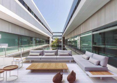 Modernūs lauko baldai sofa Arbon