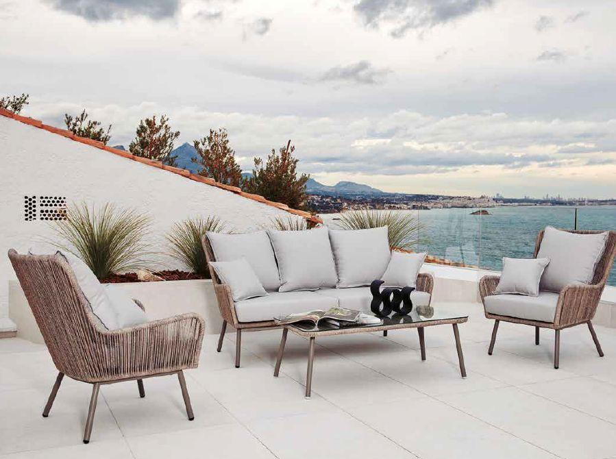 Modernūs lauko baldai sofa Bahia 1