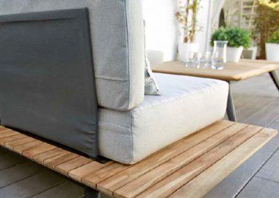 Modernūs lauko baldai sofa Calcuta 4