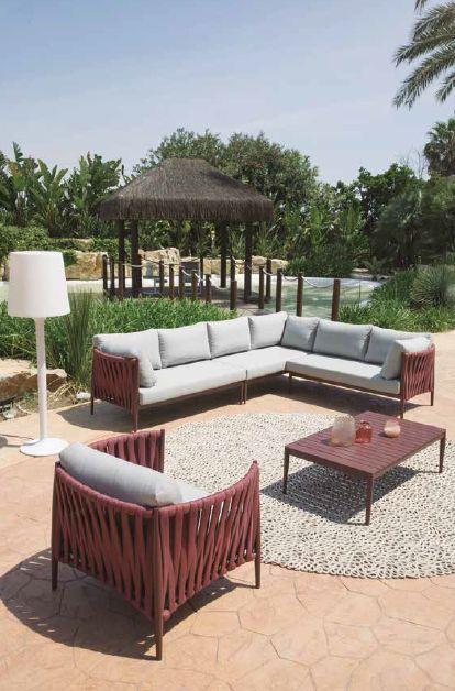 Modernūs lauko baldai sofa staliukas Andrade 2
