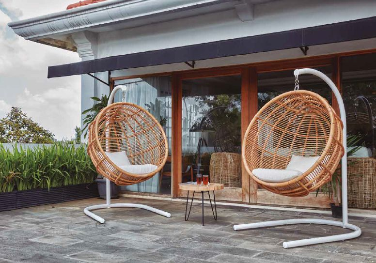 Modernūs lauko baldai Acapulco