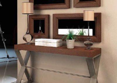 Modernūs prieškambario baldai Enzo consola 7