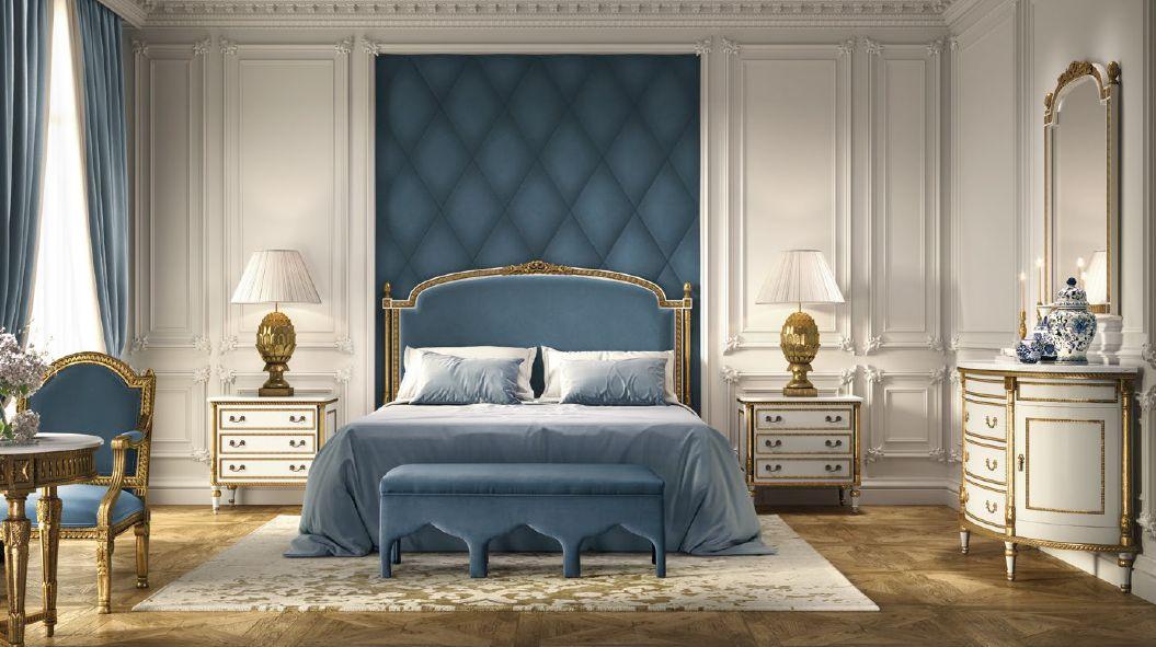 Klasikiniai miegamojo baldai Angeles