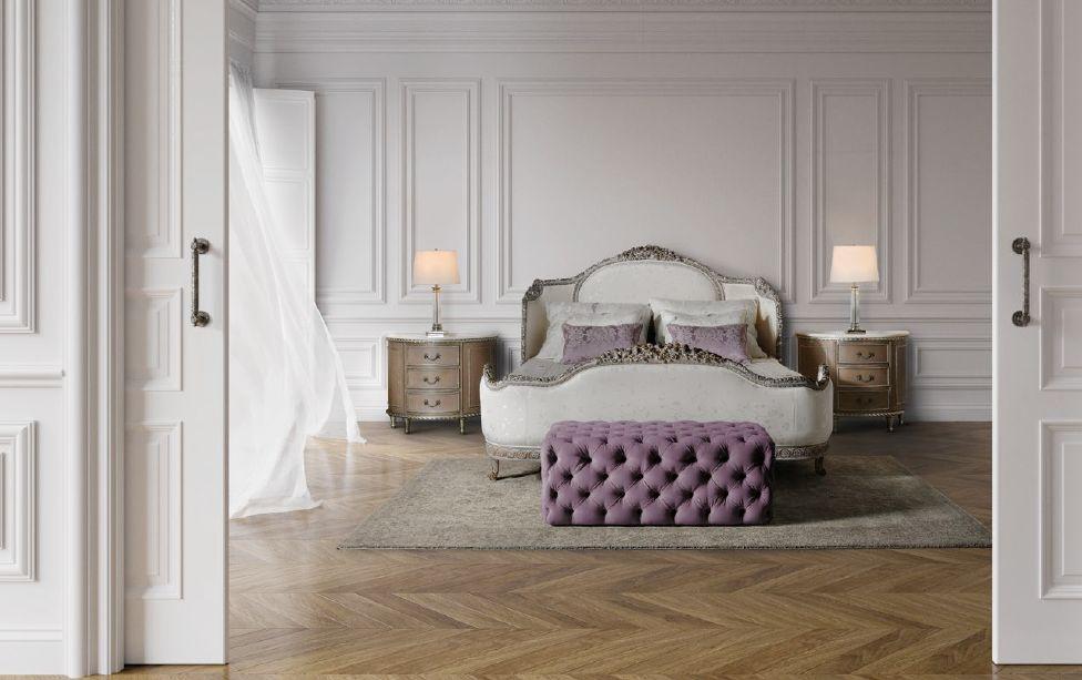 Klasikiniai miegamojo baldai Lucia