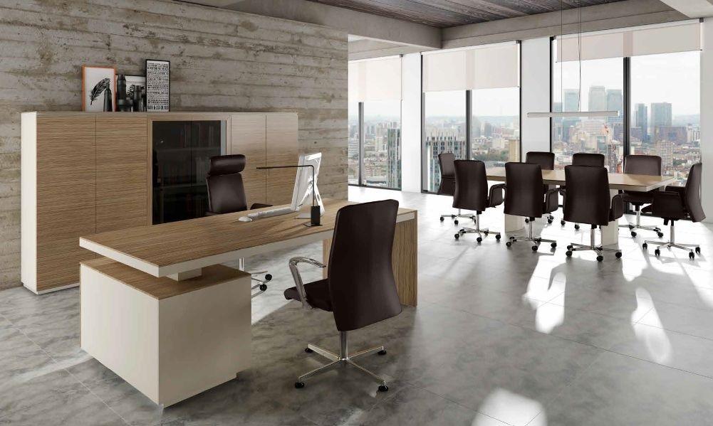 Modernūs darbo kambario baldai Versus Plus 4