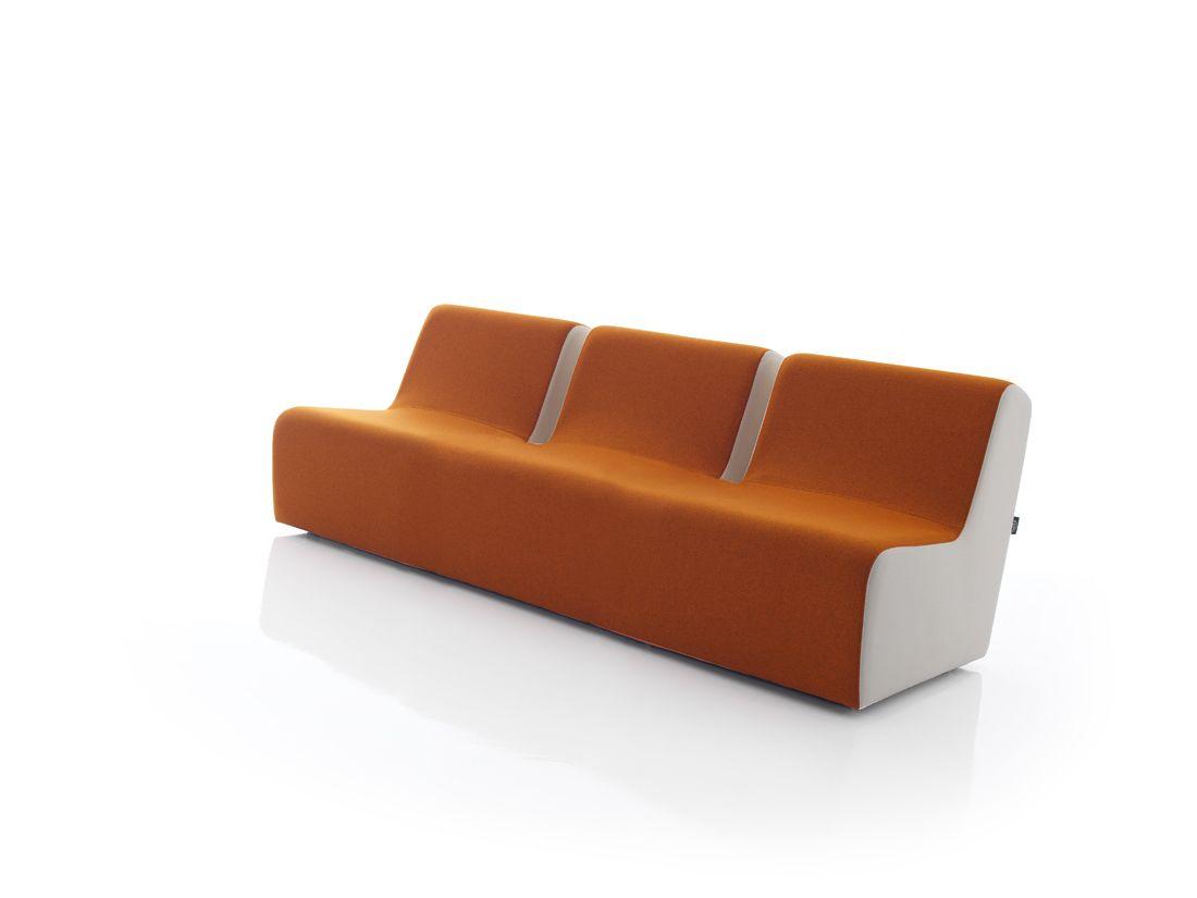 Modernūs sėdimųjų dalių moduliai fotelis Live 3