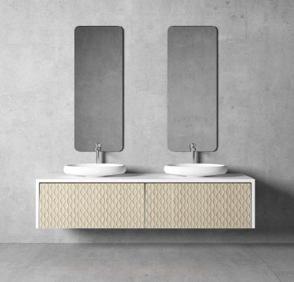 Modernūs vonios kambario baldai Auriga 5