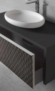 Modernūs vonios kambario baldai Auriga