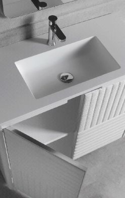 Modernūs vonios kambario baldai Boston 1