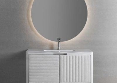 Modernūs vonios kambario baldai Boston