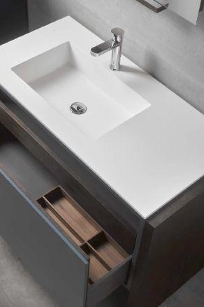 Modernūs vonios kambario baldai Mo-Do 1