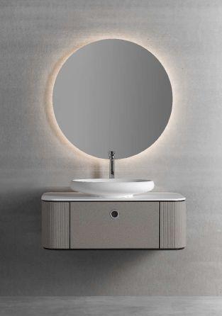 Modernūs vonios kambario baldai Tubular 1