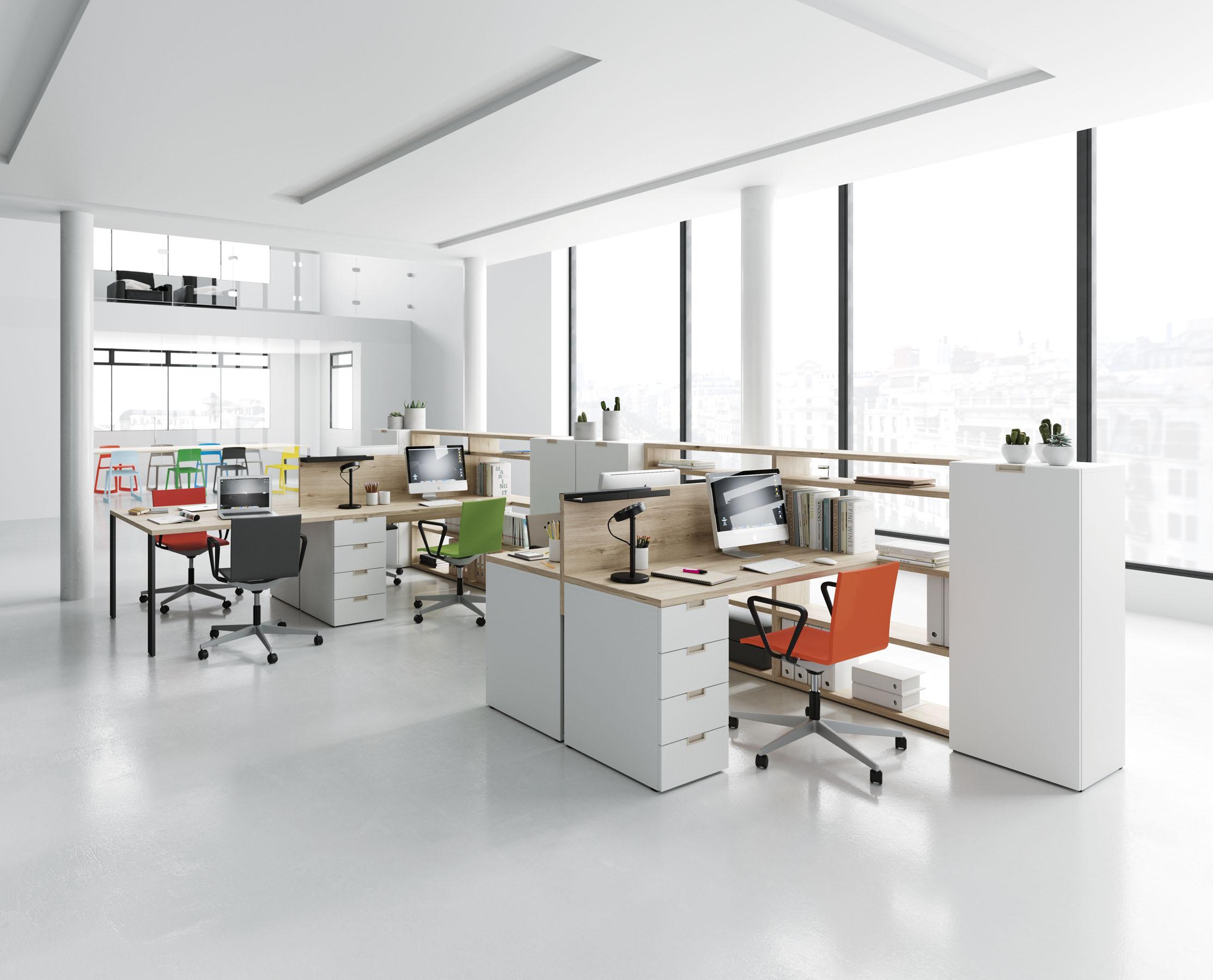 Moderūs darbo kambario baldai 54 oficina 1