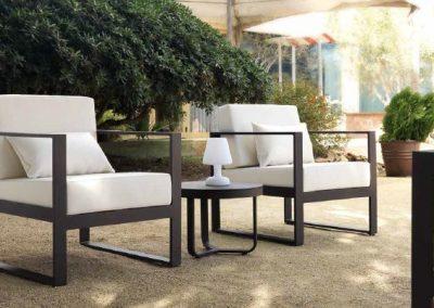 Modernūs lauko baldai krėsliukai Marbella 6