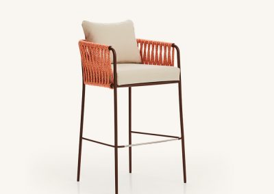 Modernus lauko baro kėdė Nido