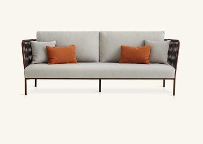 Modernus lauko sofa Nido