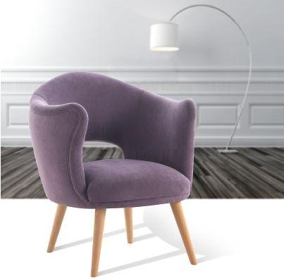 Modernus suoliukas fotelis Soren 1