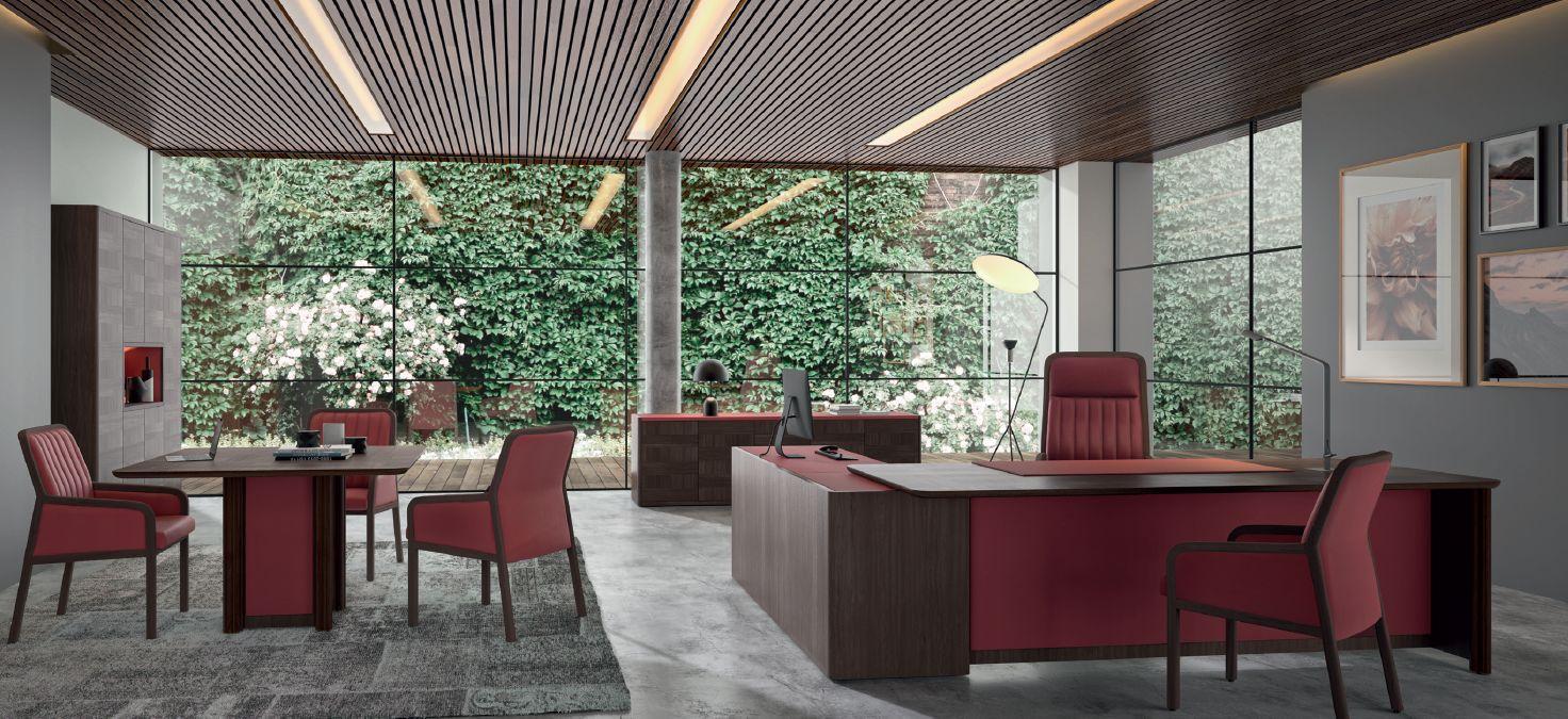 Modernios klasikos darbo kambario baldai Ardeco