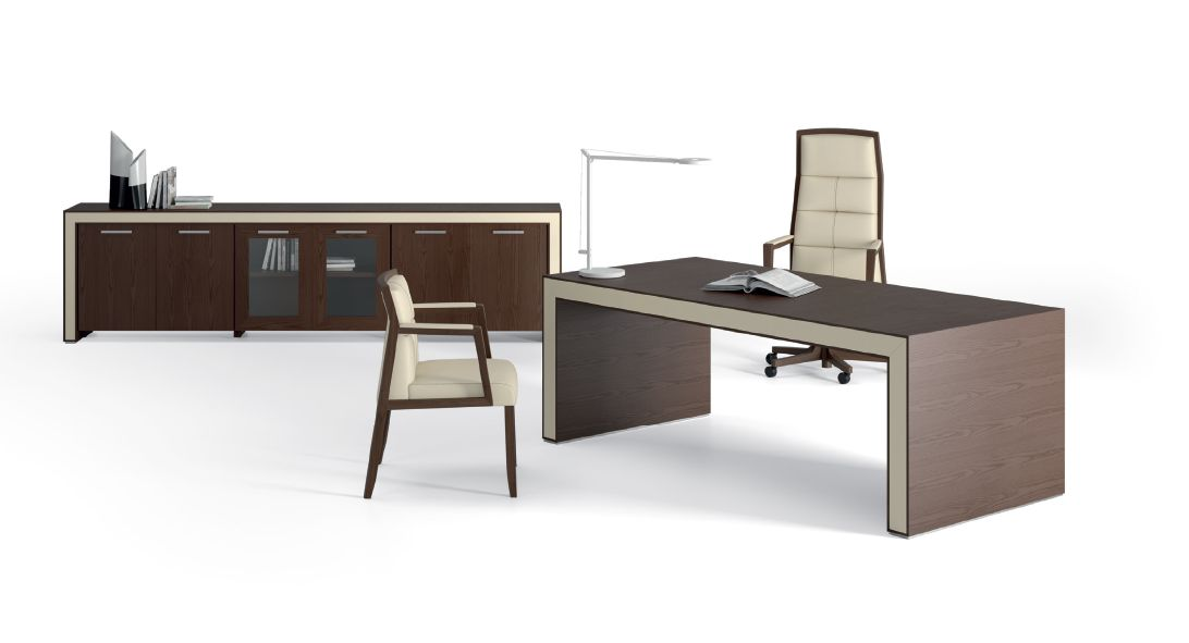 Modernios klasikos darbo kambario baldai Belesa 1