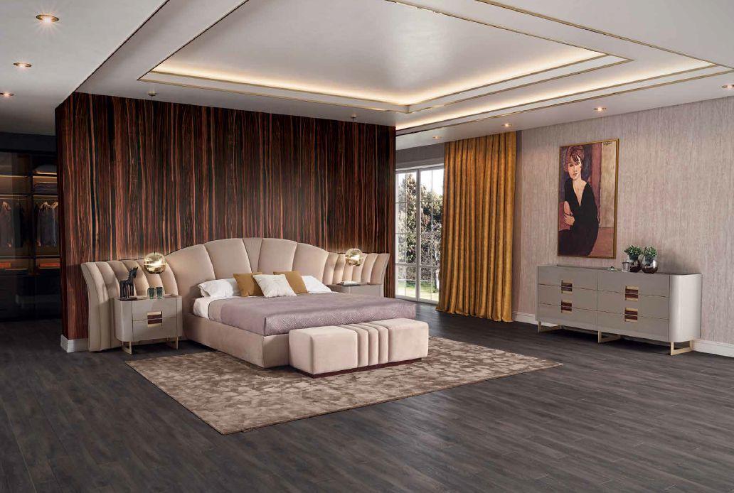 Modernios klasikos miegamojo baldai Majestic