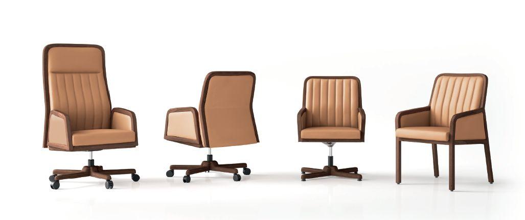 Modernios klasikos ofiso kėdės Ilius