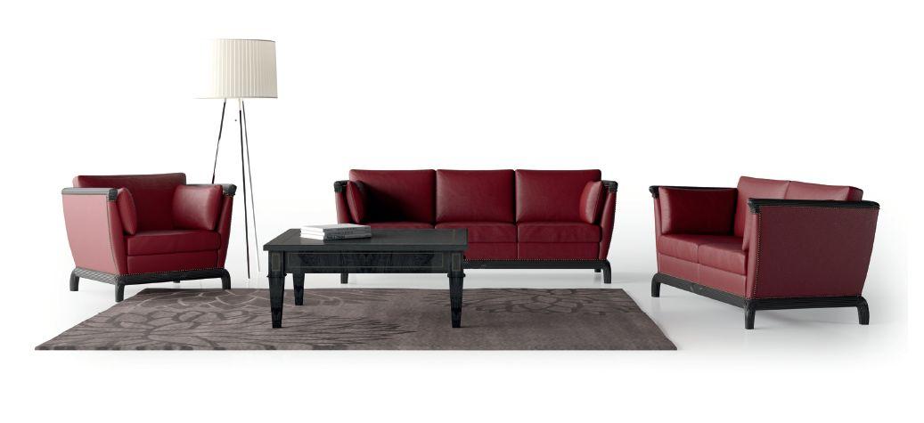 Modernios klasikos ofiso sofa Bordon