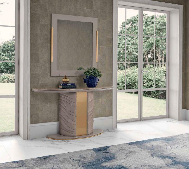 Modernios klasikos prieškambario baldai konsolė Gatsby