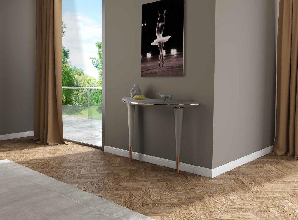 Modernios klasikos prieškambario baldai konsolė Portobello