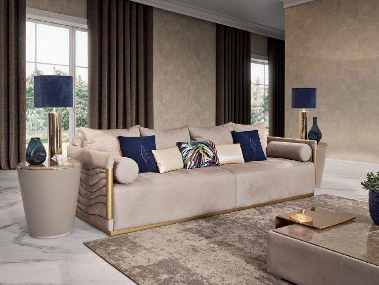 Modernios klasikos svetainės sofa baldai Gatsby 1