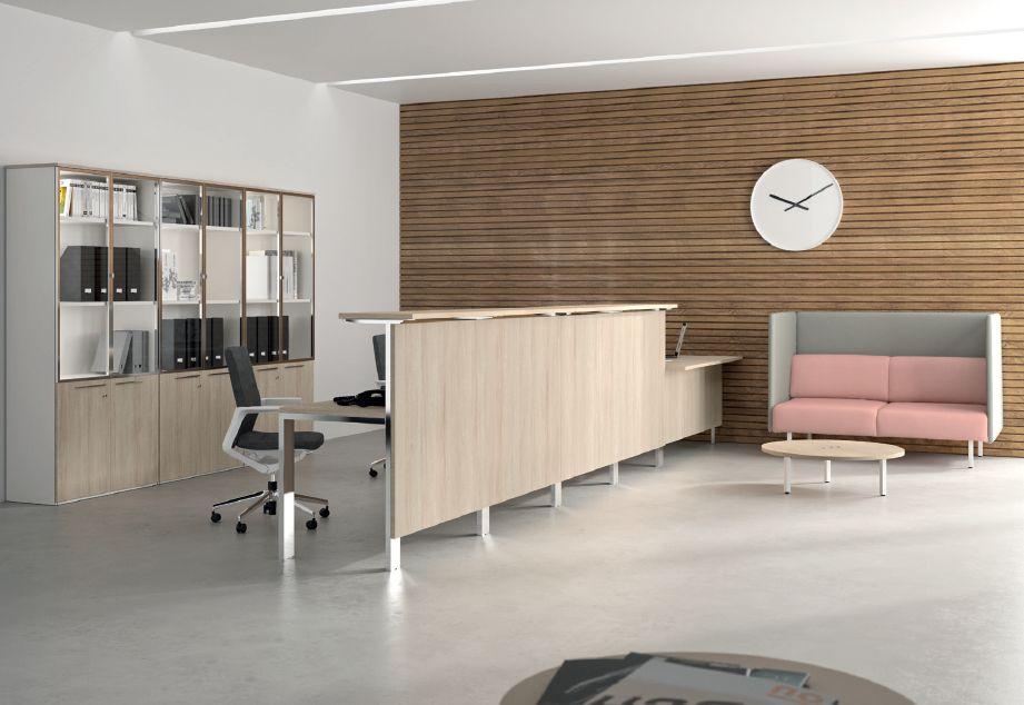 Modernūs darbo kambario baldai Concepto Free 1