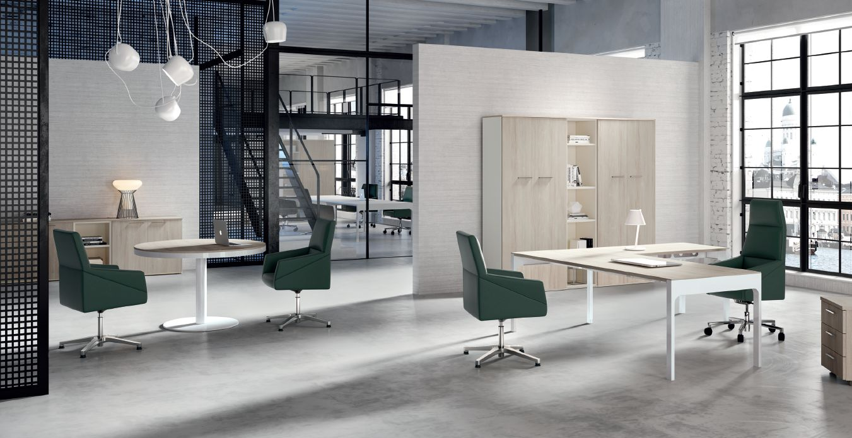 Modernūs darbo kambario baldai Lance 6